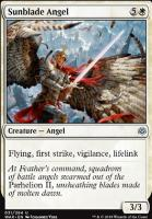 War of the Spark Foil: Sunblade Angel