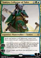 Promotional: Tamiyo, Collector of Tales (Prerelease Foil)