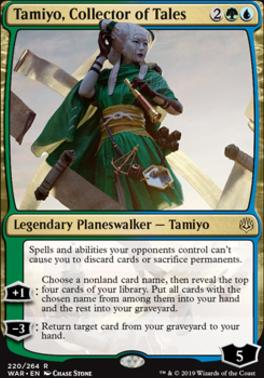 War of the Spark Foil: Tamiyo, Collector of Tales