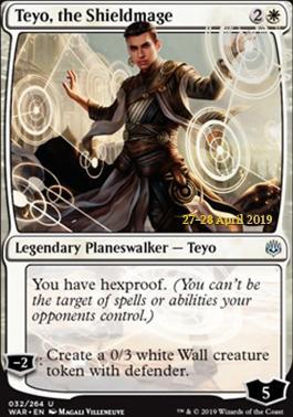 Promotional: Teyo, the Shieldmage (Prerelease Foil)