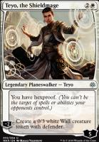 War of the Spark Foil: Teyo, the Shieldmage