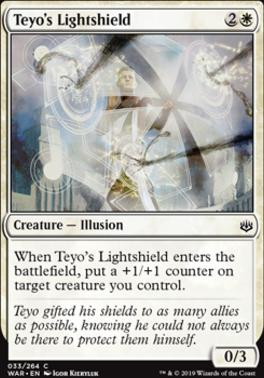 War of the Spark Foil: Teyo's Lightshield