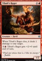 War of the Spark Foil: Tibalt's Rager