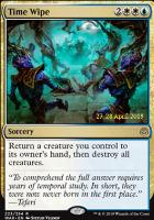 Promotional: Time Wipe (Prerelease Foil)