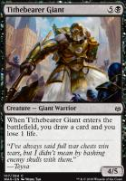 War of the Spark Foil: Tithebearer Giant