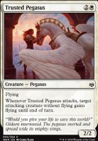War of the Spark Foil: Trusted Pegasus