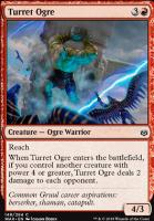 War of the Spark Foil: Turret Ogre
