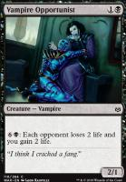 War of the Spark Foil: Vampire Opportunist
