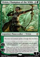 Promotional: Vivien, Champion of the Wilds (Prerelease Foil)