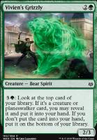 War of the Spark Foil: Vivien's Grizzly