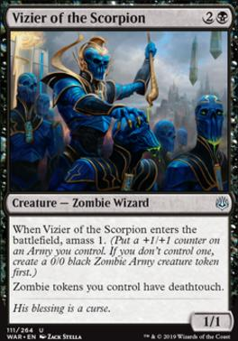 War of the Spark: Vizier of the Scorpion