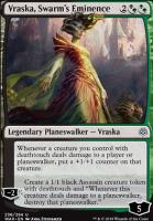 War of the Spark Foil: Vraska, Swarm's Eminence