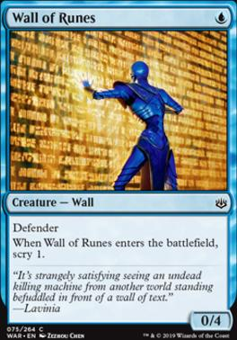 War of the Spark: Wall of Runes
