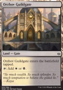 War of the Spark: Orzhov Guildgate (Planeswalker Deck)