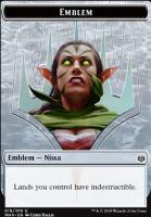 War of the Spark: Emblem (Nissa)