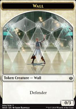 War of the Spark: Wall Token
