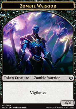 War of the Spark: Zombie Warrior Token