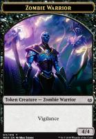 War of the Spark: Zombie Warrior Token