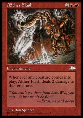 Weatherlight: Aether Flash
