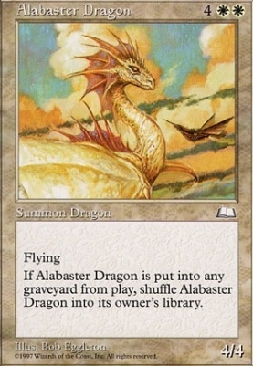 Weatherlight: Alabaster Dragon