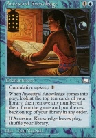 Weatherlight: Ancestral Knowledge