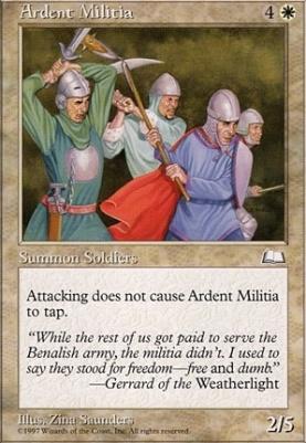 Weatherlight: Ardent Militia