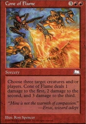 Weatherlight: Cone of Flame