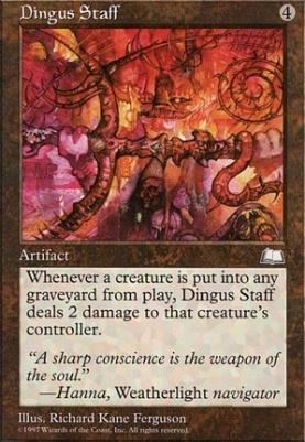 Weatherlight: Dingus Staff