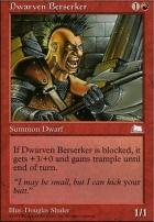 Weatherlight: Dwarven Berserker