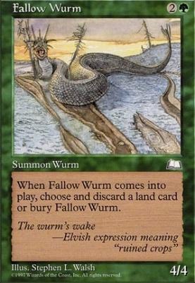 Weatherlight: Fallow Wurm