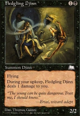 Weatherlight: Fledgling Djinn