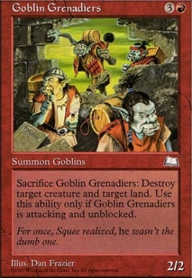Weatherlight: Goblin Grenadiers