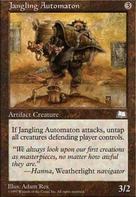 Weatherlight: Jangling Automaton