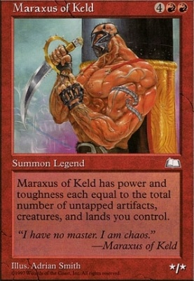 Weatherlight: Maraxus of Keld