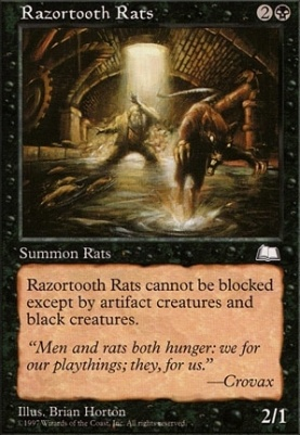 Weatherlight: Razortooth Rats