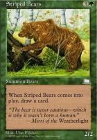 Weatherlight: Striped Bears