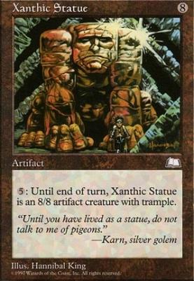 Weatherlight: Xanthic Statue