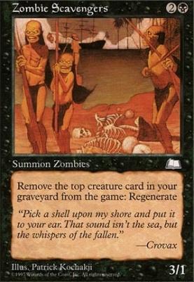 Weatherlight: Zombie Scavengers