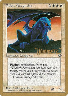 World Championships: Abbey Gargoyles (New York City 1996 (Shawn Regnier - Sideboard) - Not Tournament Legal)