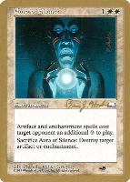 World Championships: Aura of Silence (Seattle 1998 (Brian Hacker - Sideboard) - Not Tournament Legal)