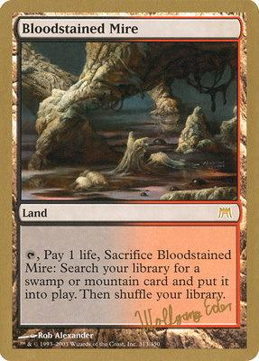 World Championships: Bloodstained Mire (Berlin 2003 (Wolfgang Eder) - Not Tournament Legal)