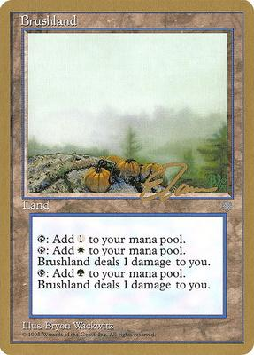 World Championships: Brushland (New York City 1996 (Eric Tam) - Not Tournament Legal)