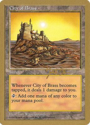 World Championships: City of Brass (Seattle 1997 (Jakub Slemr) - Not Tournament Legal)