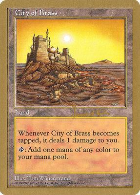 World Championships: City of Brass (Seattle 1997 (Janosch Kuhn) - Not Tournament Legal)