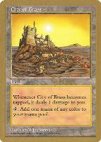 World Championships: City of Brass (Seattle 1997 (Paul McCabe) - Not Tournament Legal)