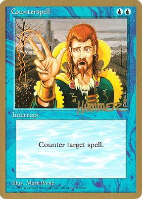 World Championships: Counterspell (New York City 1996 (Shawn Regnier) - Not Tournament Legal)