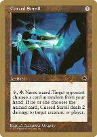 World Championships: Cursed Scroll (Seattle 1998 (Ben Rubin) - Not Tournament Legal)