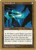 World Championships: Cursed Scroll (Tokyo 1999 (Jakub Slemr) - Not Tournament Legal)