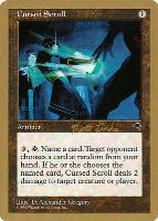 World Championships: Cursed Scroll (Tokyo 1999 (Matt Linde) - Not Tournament Legal)