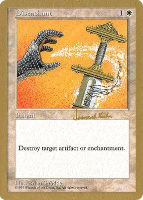 World Championships: Disenchant (Seattle 1997 (Janosch Kuhn) - Not Tournament Legal)